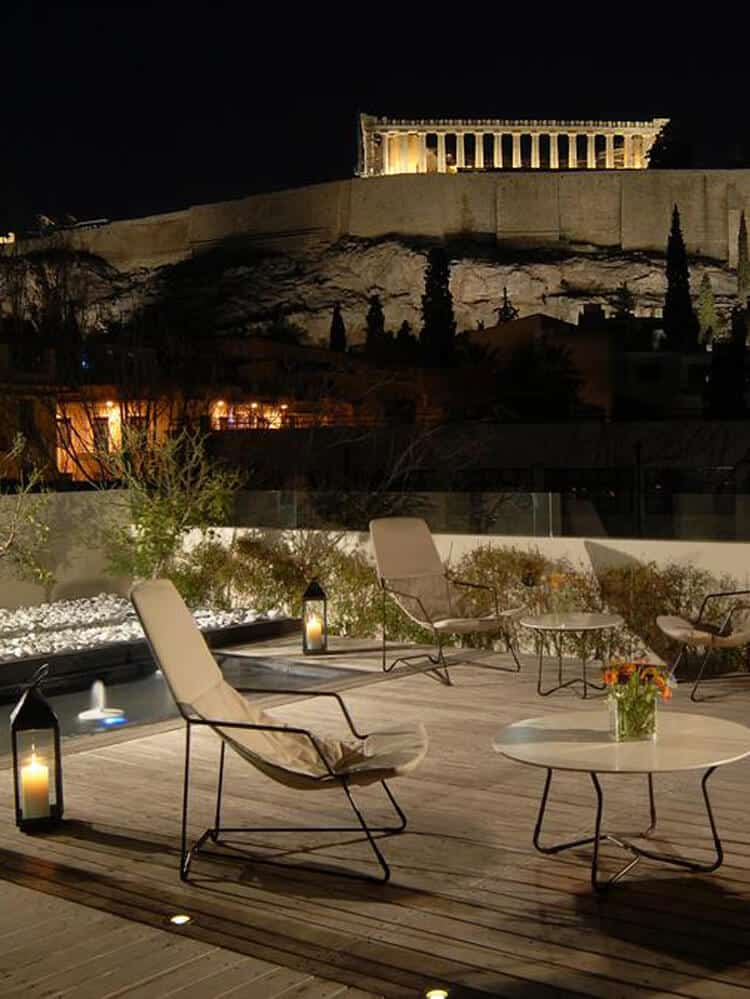 Herodion hotel in Athens
