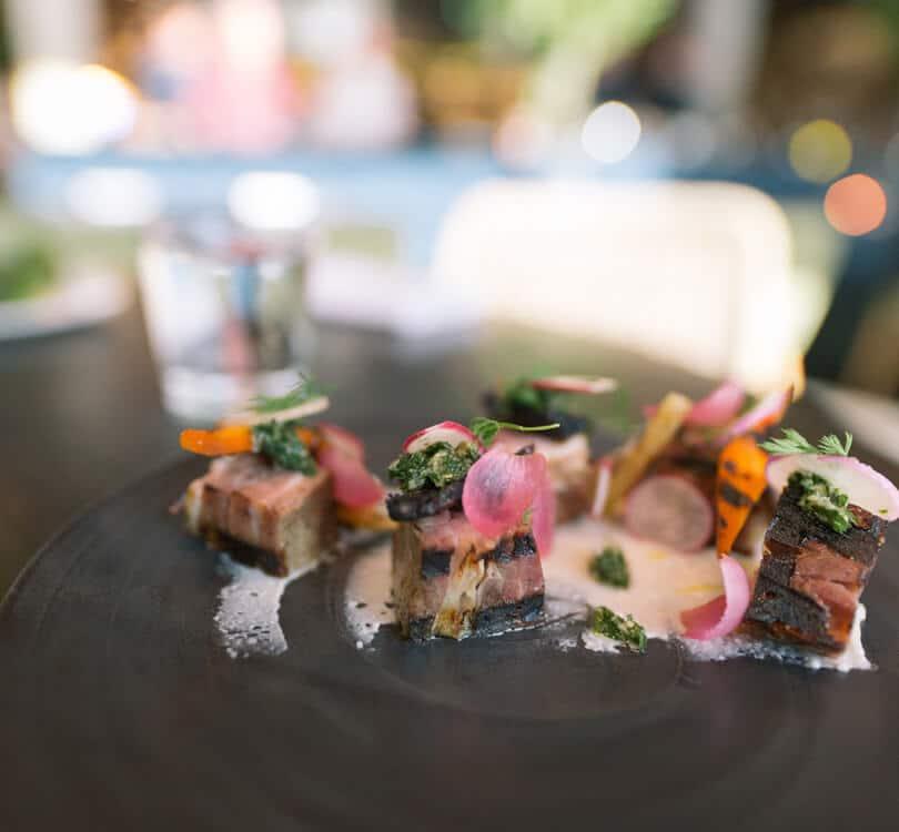 Luxury food in Graz