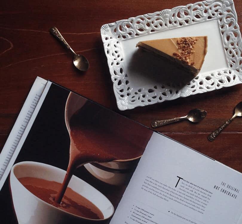 Coffee and cake at Vcr Kuala Lumpur
