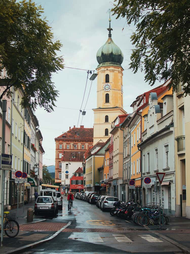 View of a Church in Graz