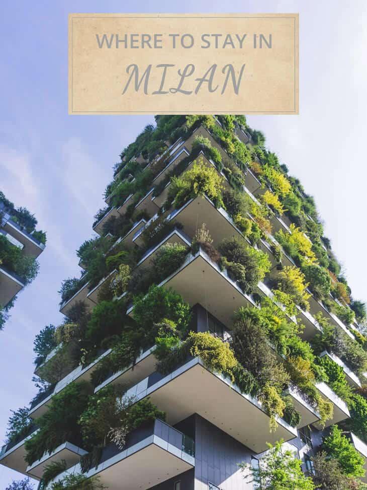 Eco building in Milan