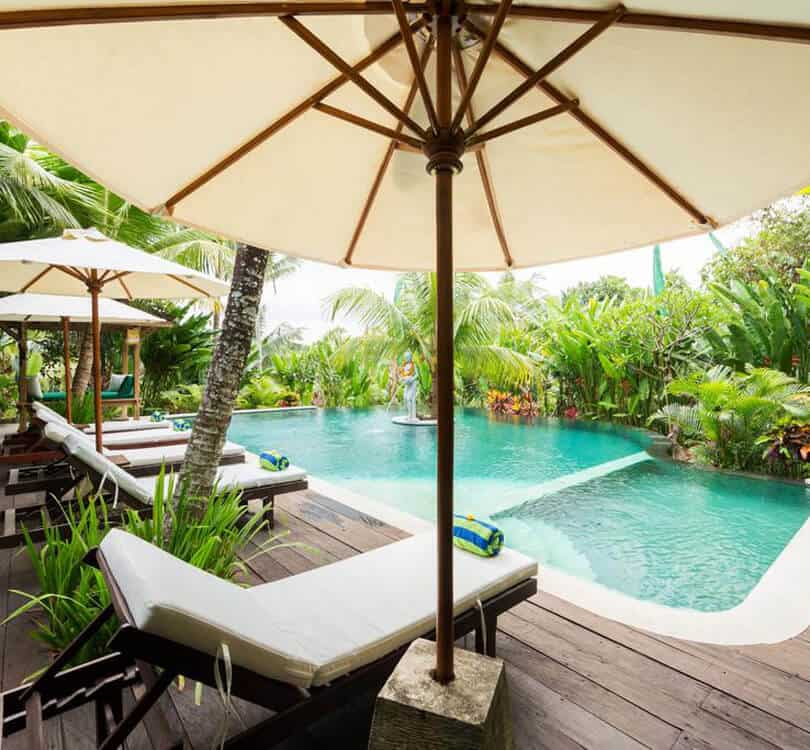 Alamdini resort Ubud in Bali