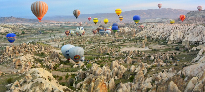Air balloons in Turkey