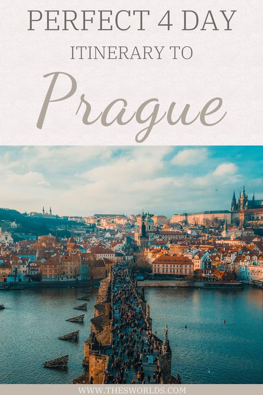 People walking on Charles Bridge in Prague