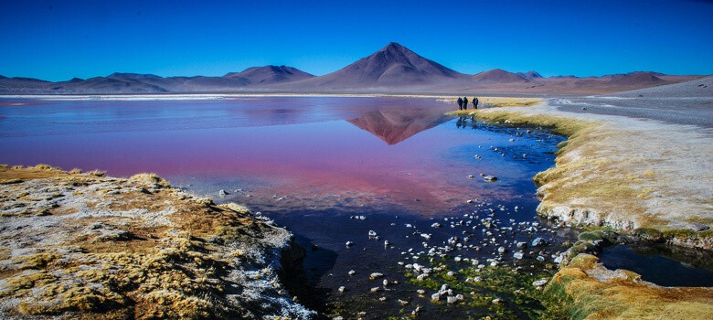 Lake in Bolivia