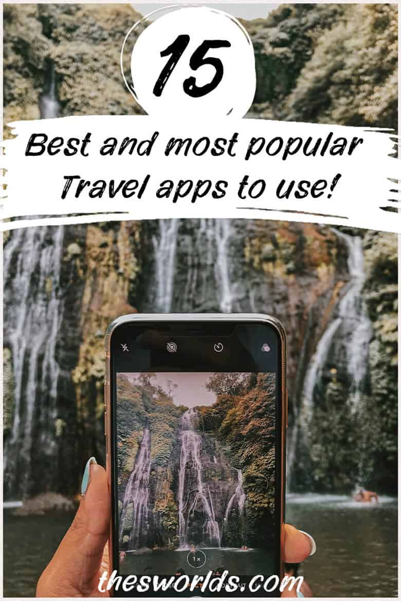 15 most popular travel apps to use today