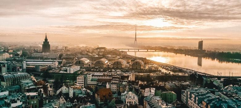 City view Riga, Latvia