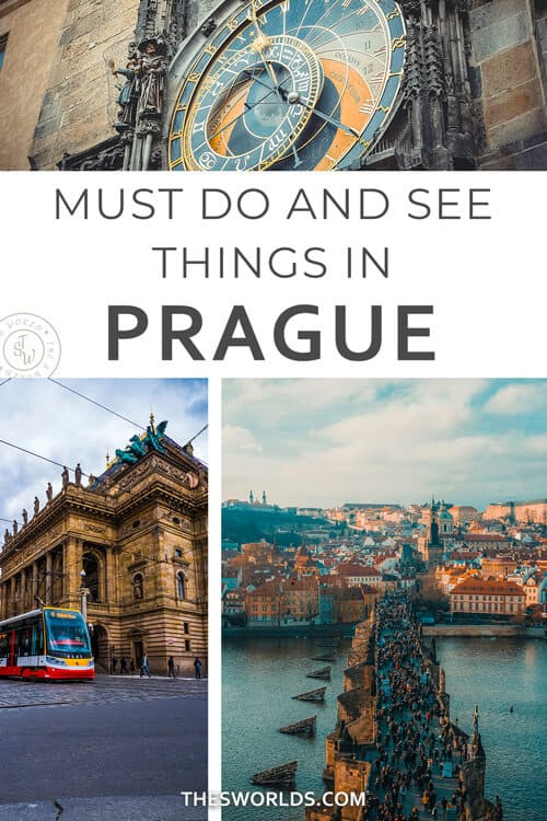 Must do and see things in Prague