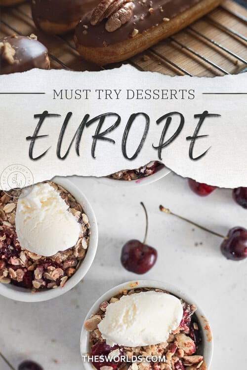Must try desserts Europe