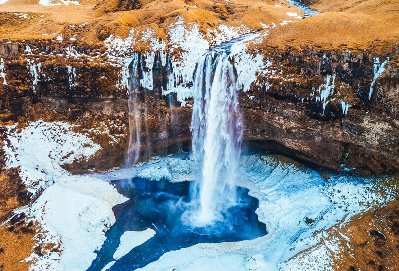 Waterfall at Iceland