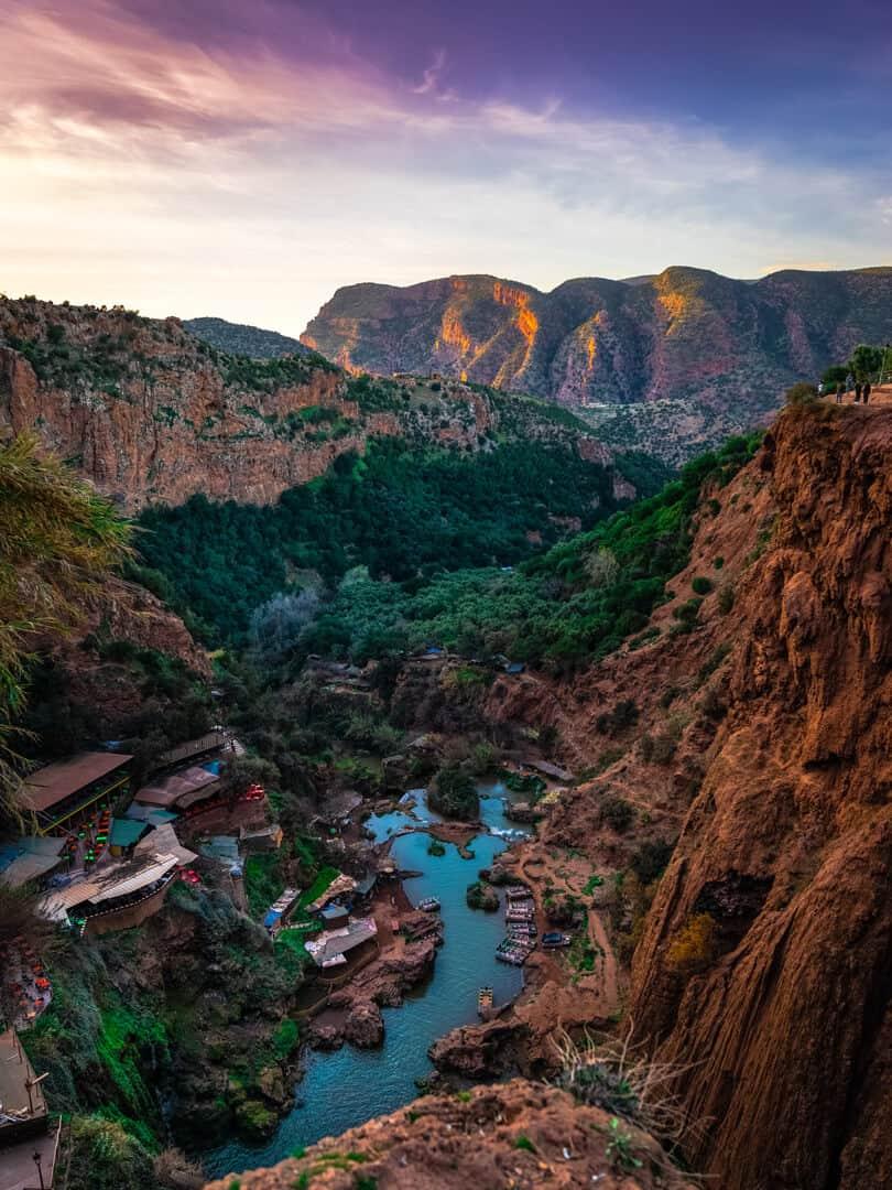 Ouzoud waterfalls Marrakech, Morocco