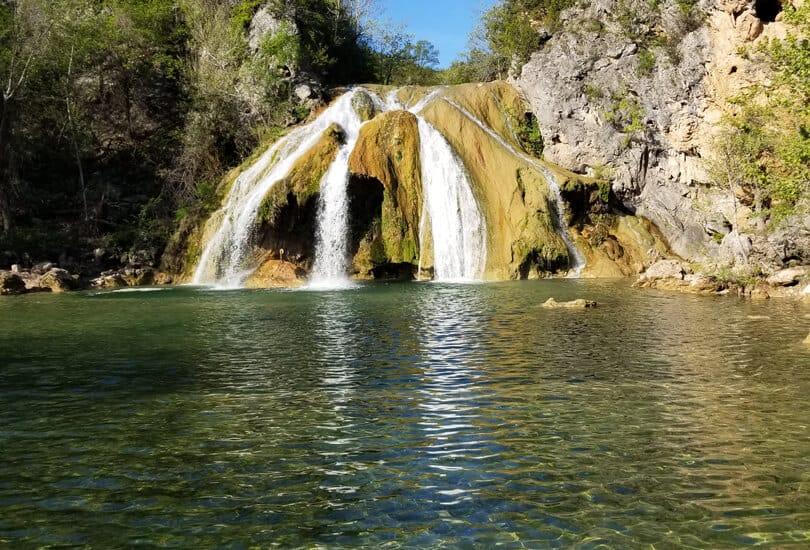 Waterfalls at Davis, Oklahoma