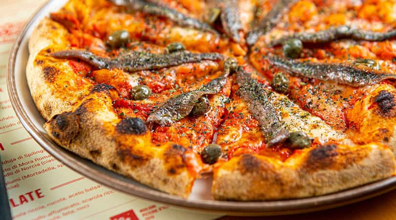 Pizza at Berbere Milan Pizza