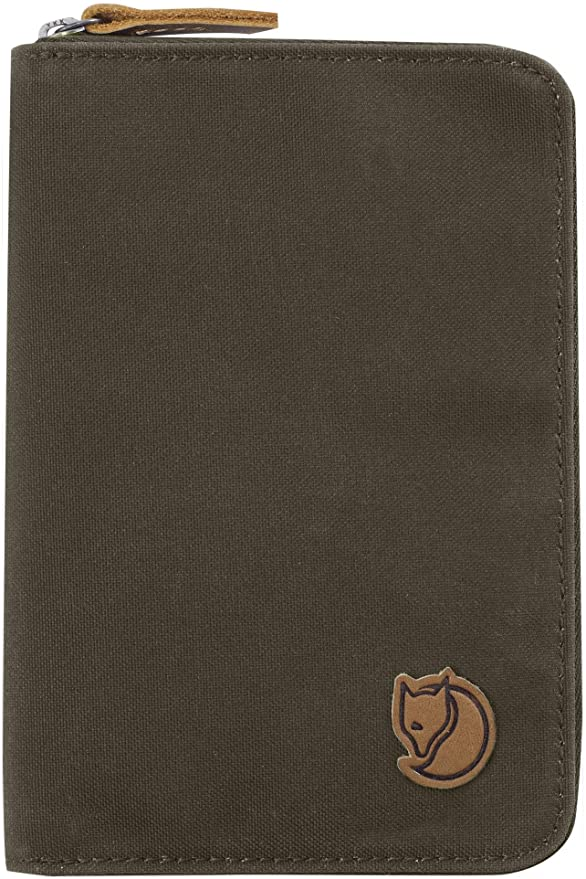 Brown Fjallraven Travel wallet