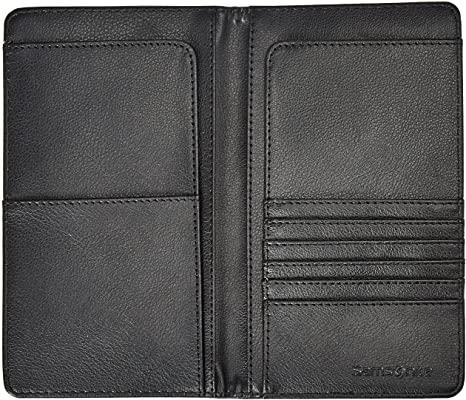 Black Samsonite travel wallet