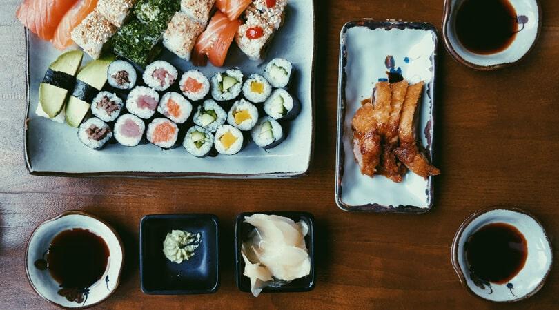Sushi in Sumire in Milan
