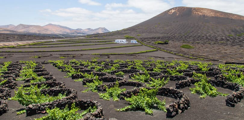 Volcanic ground in Spain