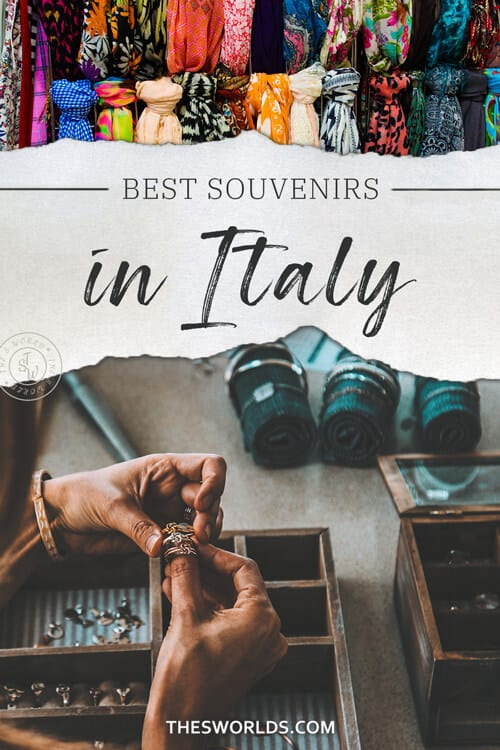 Best souvenirs in Italy
