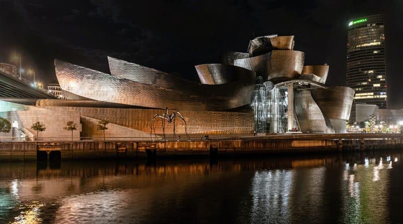 Bilboa building at Night