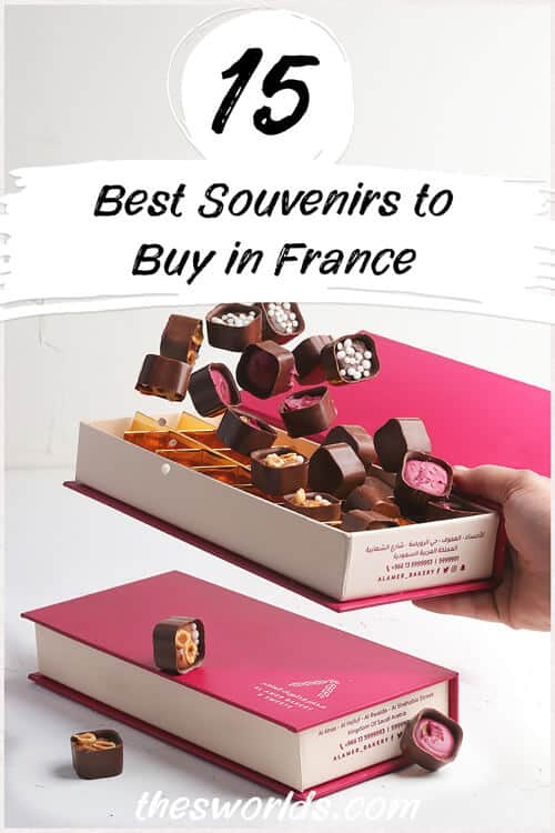 Fifteen best souvenirs to buy in France