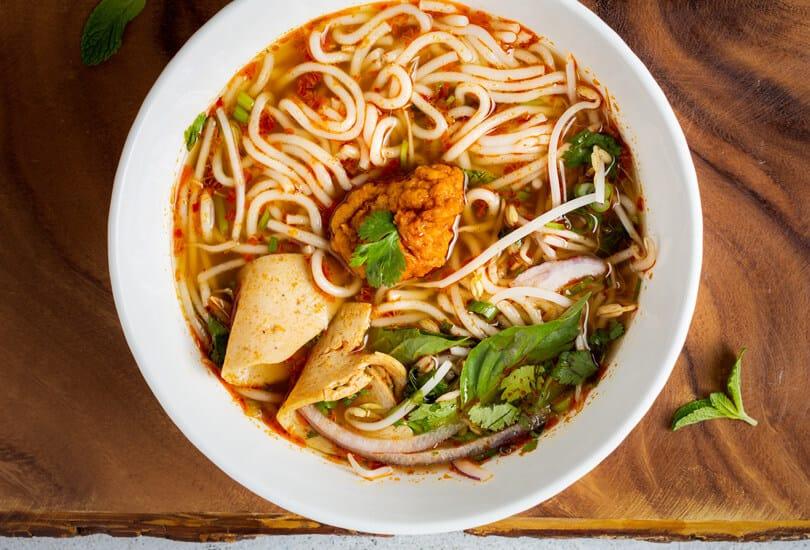 Miso soup Japan street food