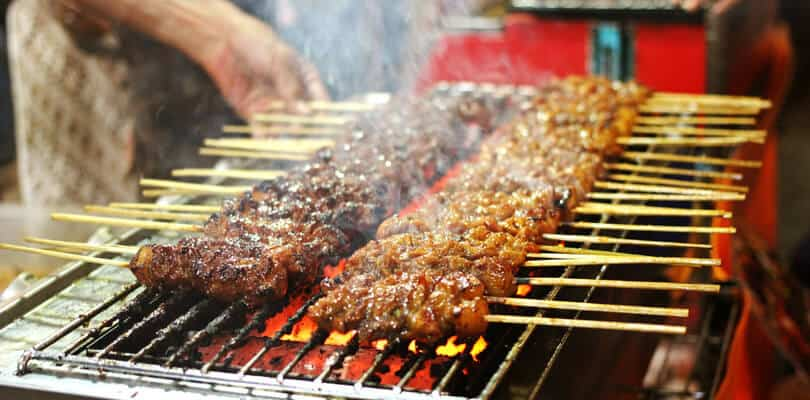 Satay Indonesia Street food