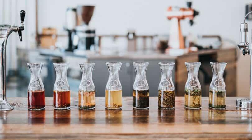 Tea shop in France