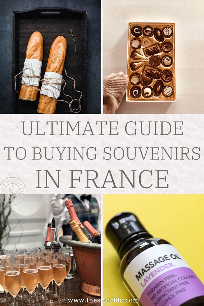 Ultimate guide to buying souvenirs in France