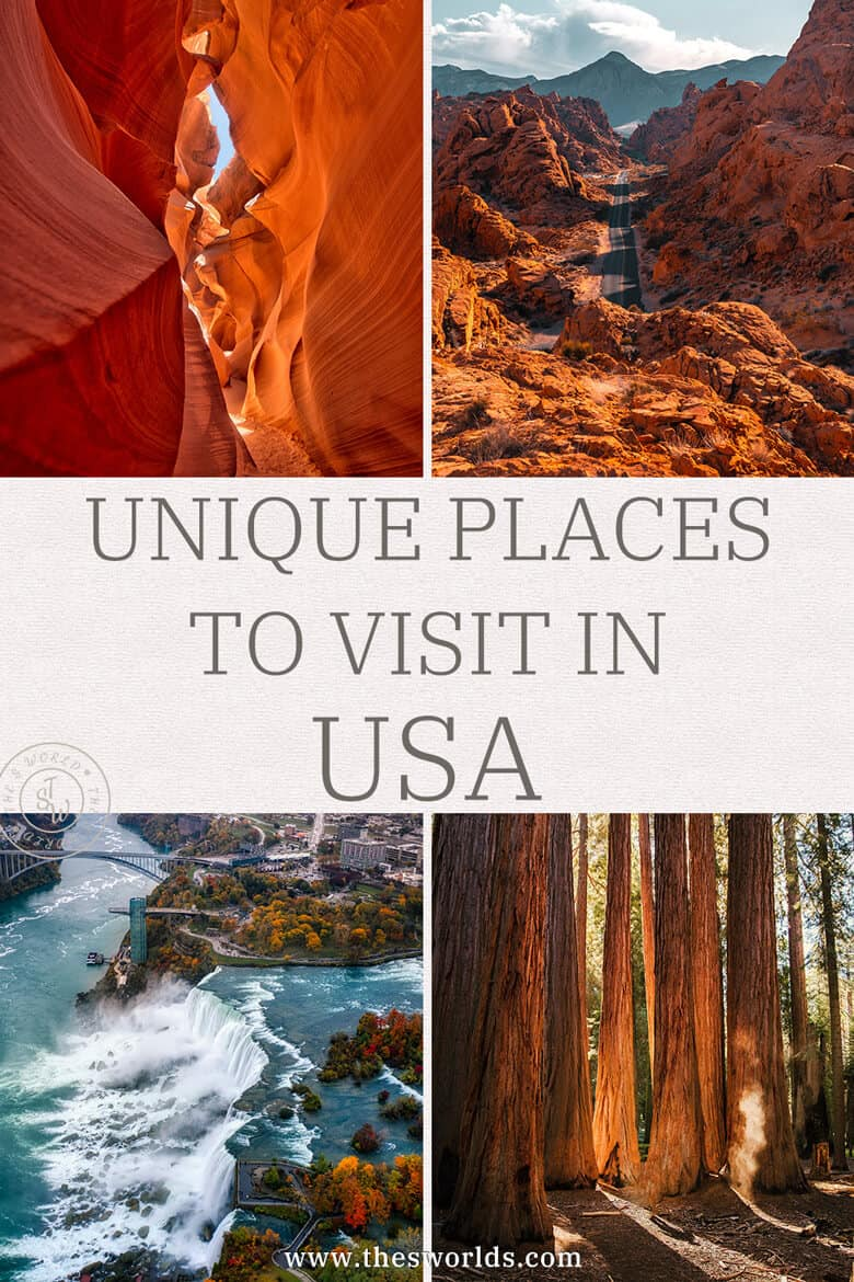 Unique places to visit in USA