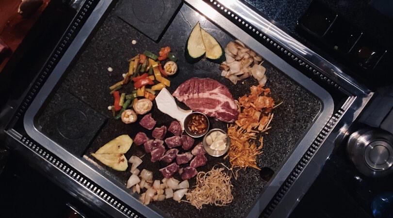 Korean bbq street food