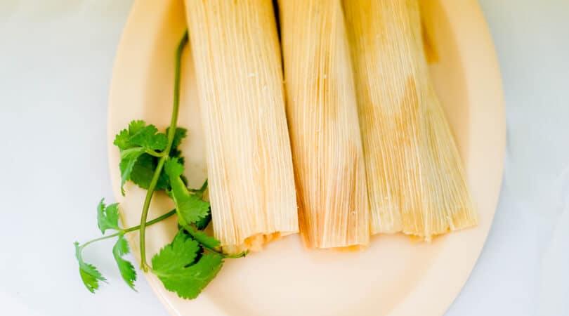 Tamales Street food