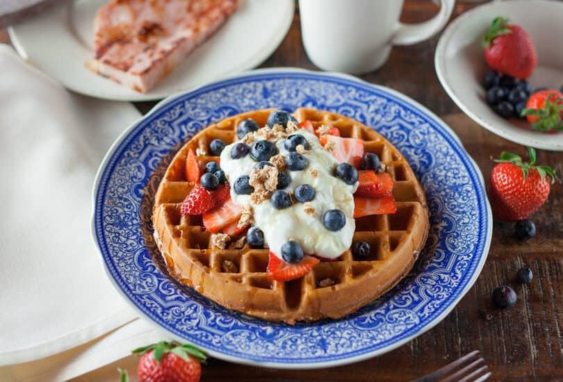 Belgium breakfast