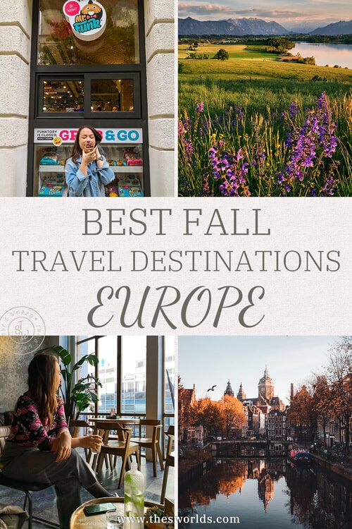Best fall travel destinations in Europe