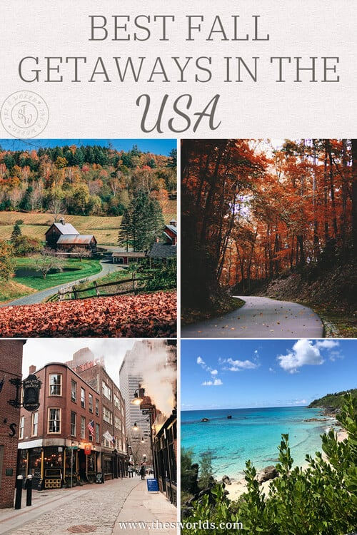 Best fall getaways in the USA