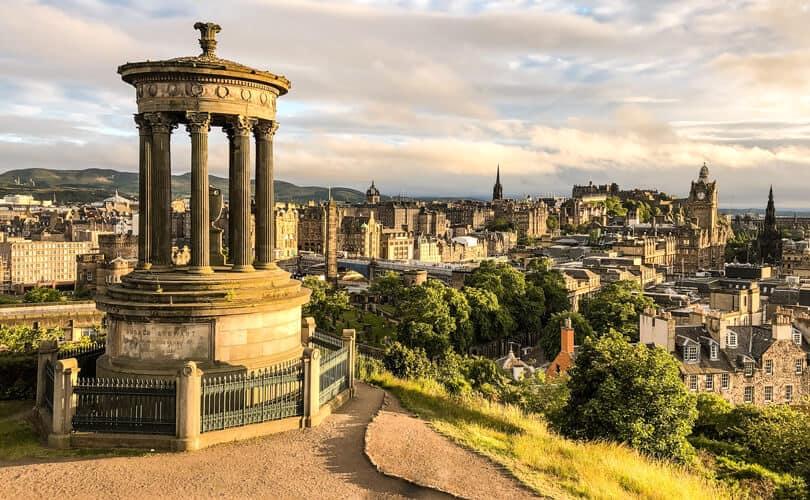 Edinburg city view