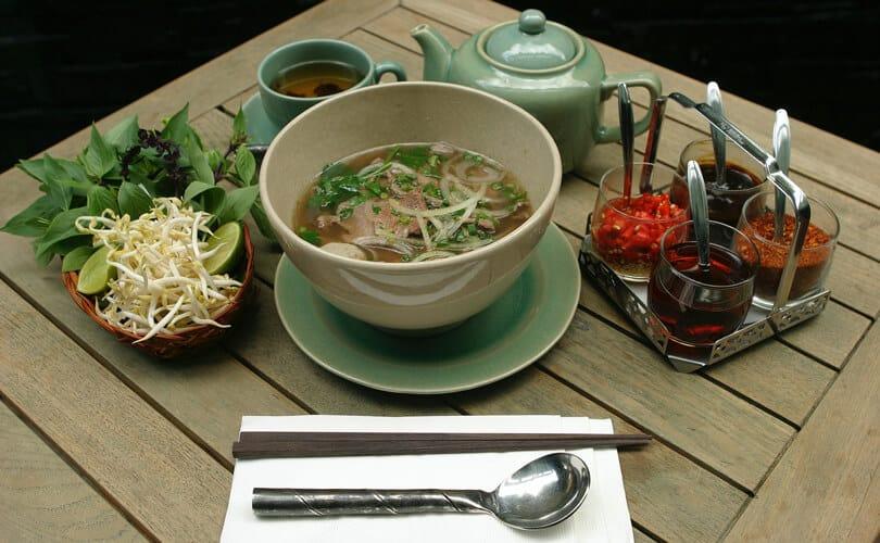 Vietnam breakfast