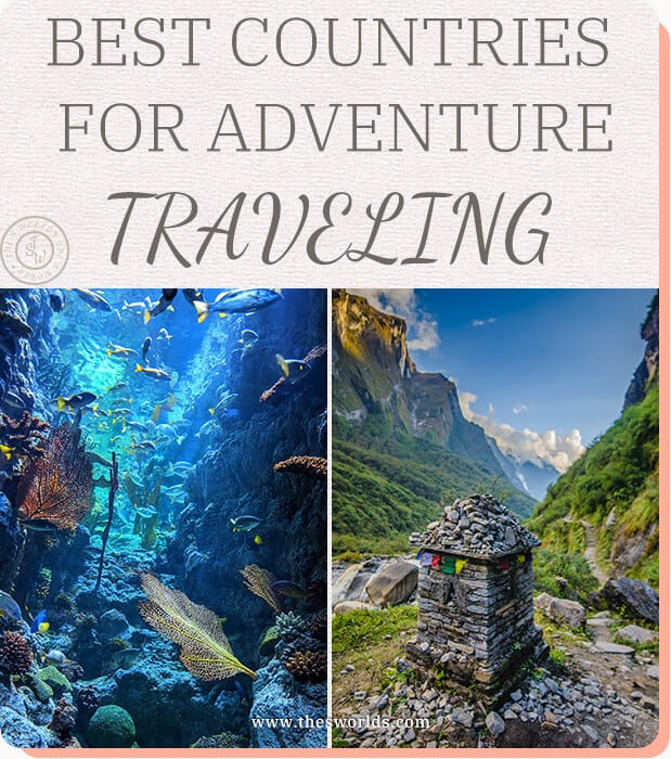 Best countries for adventure traveling