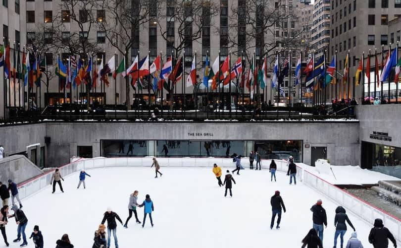 New York skating ring