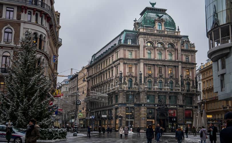 Vienna Streets in Winter